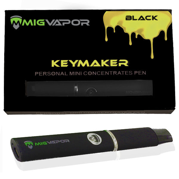 "Dab/Wax Pen Keymaker ""Black"""